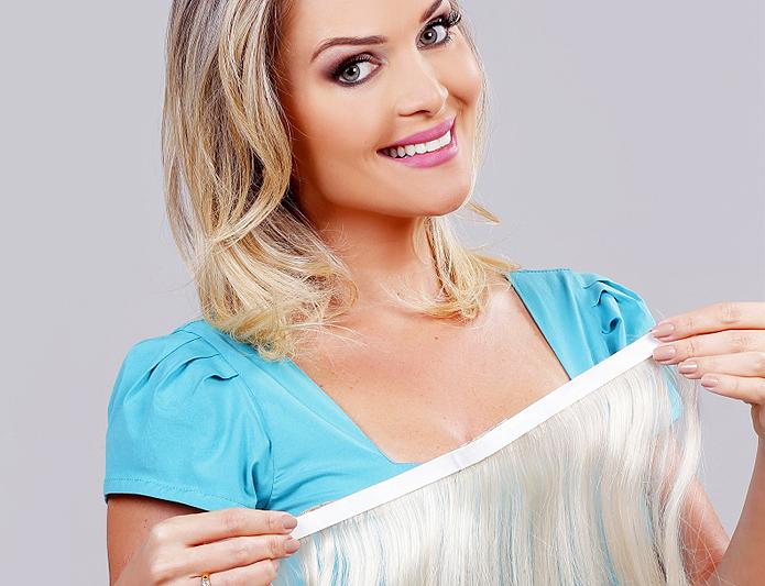 Empresa de Porto Alegre produziu os cabelos de quadros do Fantástico